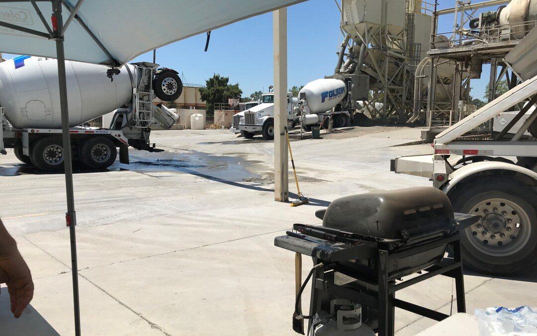 Folsom Ready Mix Employee Appreciation BBQs at Roseville & Rancho Cordova