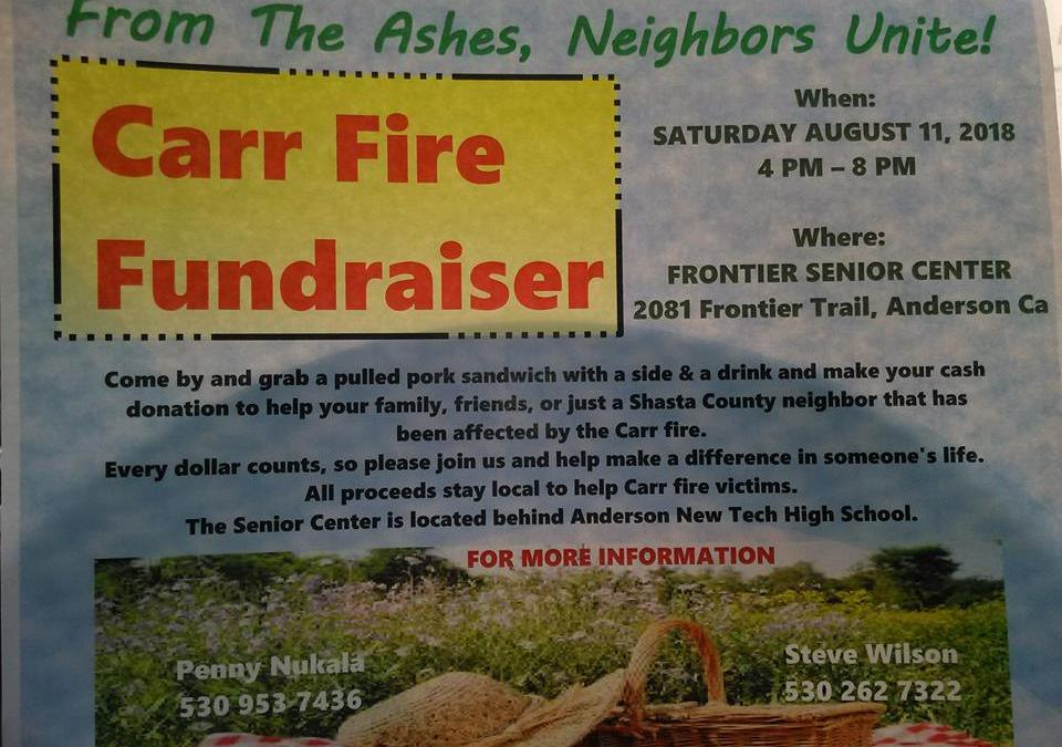 Folsom Ready Mix Supports From The Ashes Neighbors Unite! Carr Fire Fundraiser