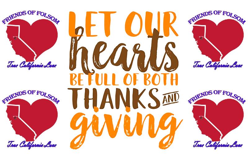 Friends of Folsom 9th Annual Turkey Drive
