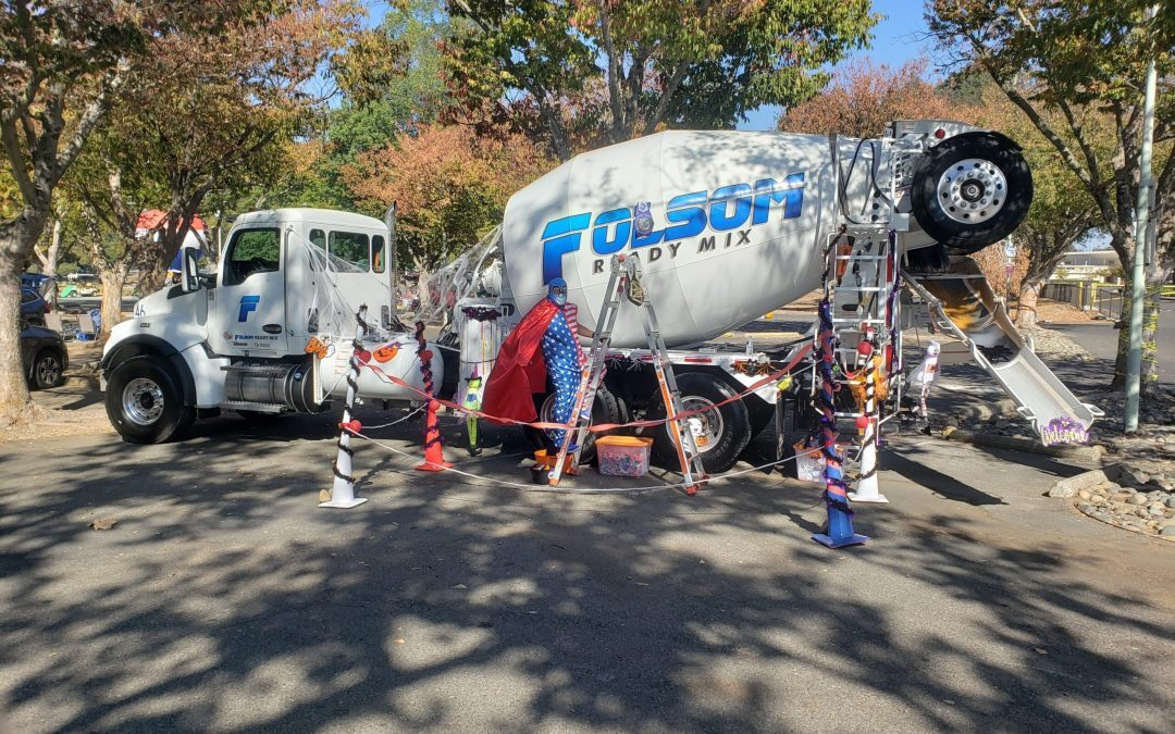 Folsom Ready Mix Partners with Cordova Recreation & Park District for Drive-BOO! Trunk or Treat